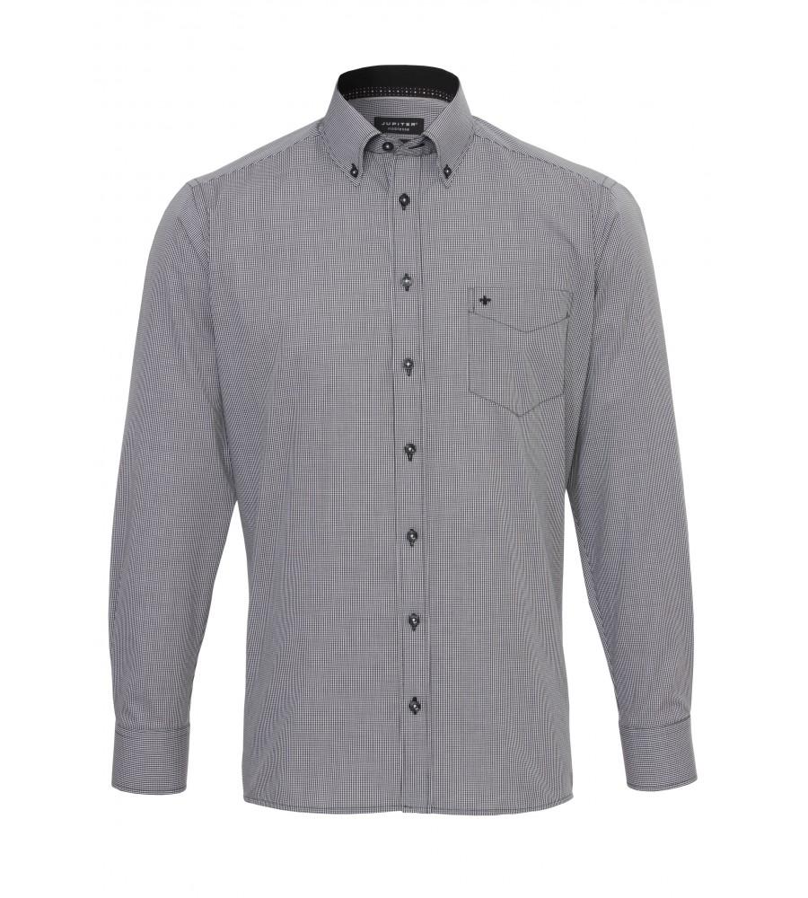 Kariertes Langarmhemd Modern Fit 2541-11221-050 front