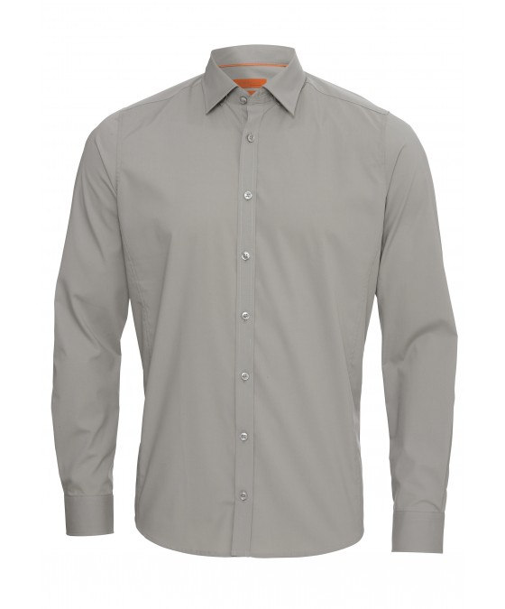 Unifarbiges Casual Hemd 2579-31200-710 front