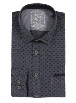 Modernes leicht tailliertes Hemd