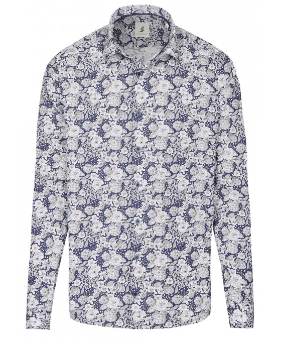 Langarmhemd mit Blumenmuster JC80108-41100-179 front