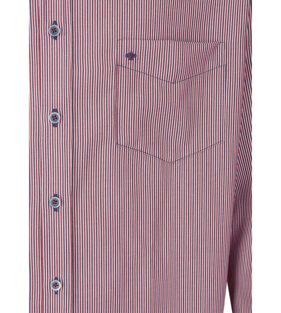 Langarmhemd mit modischen Streifen JC80511-11221-366 detail2