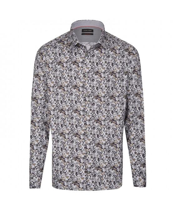 Modernes Freizeithemd Langarm JC80712-21100-477 01