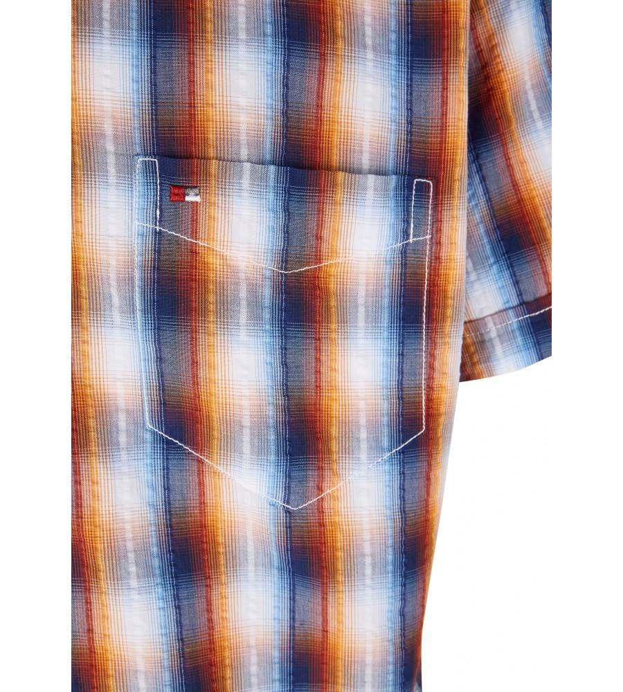Modernes Hemd im Karo-Look Kurzarm JC94002-52111-653 detail1