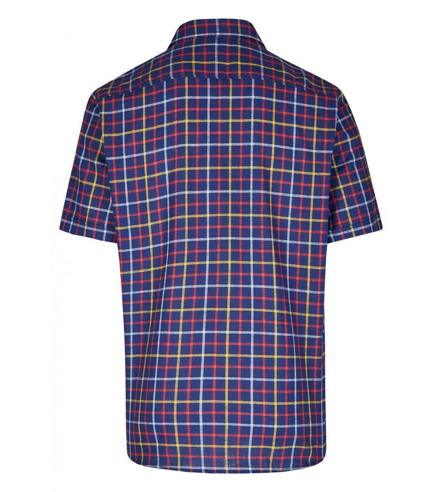 Modernes Hemd im Karo-Look Kurzarm JC94006-52111-980 back