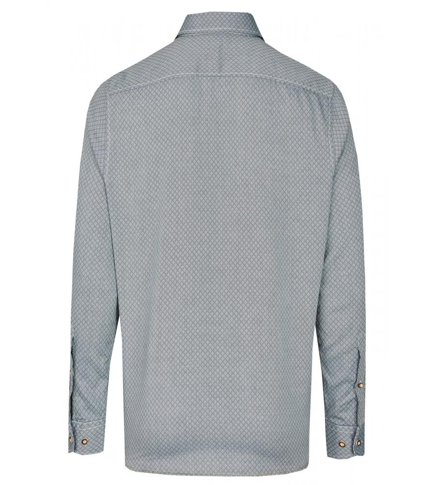 Zeitloses Trachtenhemd Langarm TC80002-81121-436 back