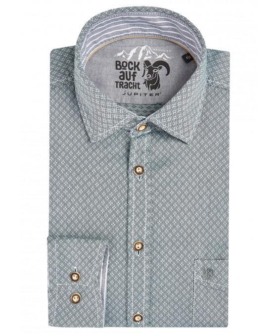 Zeitloses Trachtenhemd Langarm TC80002-81121-436 front