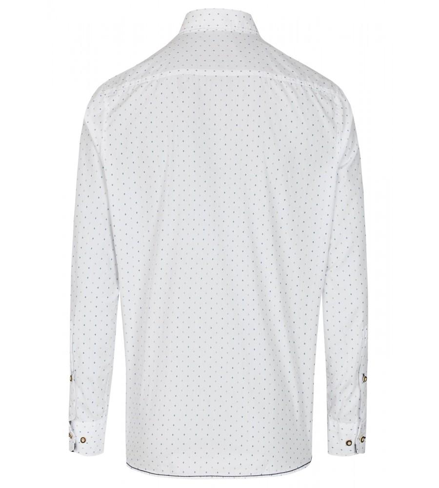 Trendiges Trachtenhemd Langarm TC80014-81101-273 back