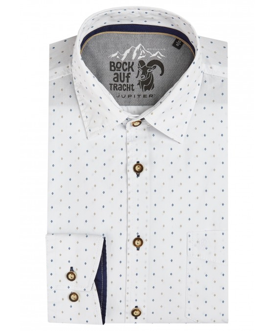 Trendiges Trachtenhemd Langarm TC80014-81101-273 front